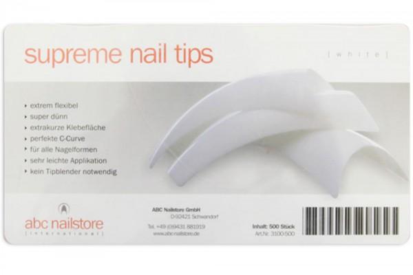 supreme nail tips french, Tipbox mit 500 Stück