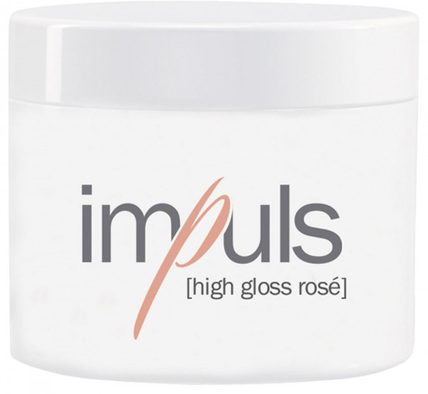 impuls high gloss rosé, high gloss gel, 100g