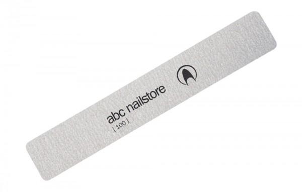 abc nailstore Wechselfeilflächen rechteck 100 grit, 10er Pack