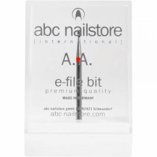 abc nailstore A.A., Elektrofeilen-Aufsatz zum Entfernen der Nagelhaut