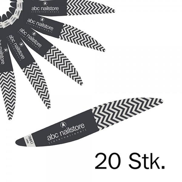 abc nailstore silk XT Feile 180/180, 20 Stück
