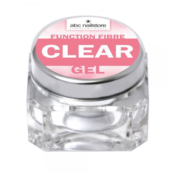 abc nailstore function fibre clear gel, 15 g