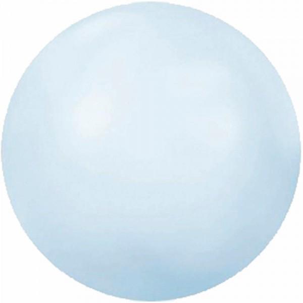 Swarovski Halbperlen SS10 Crystal Powder Blue, 50 Stück