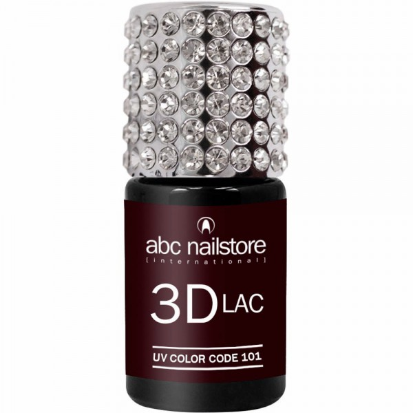 abc nailstore 3DLAC burlesque bordeaux #101, 8 ml