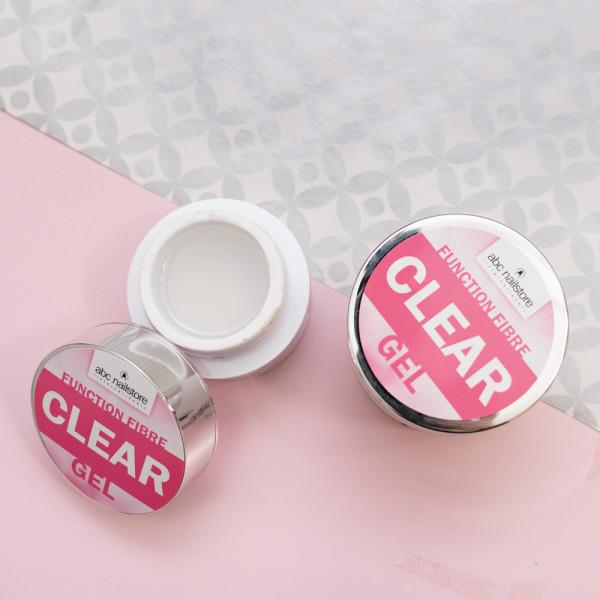 abc nailstore function fibre clear gel, 100 g