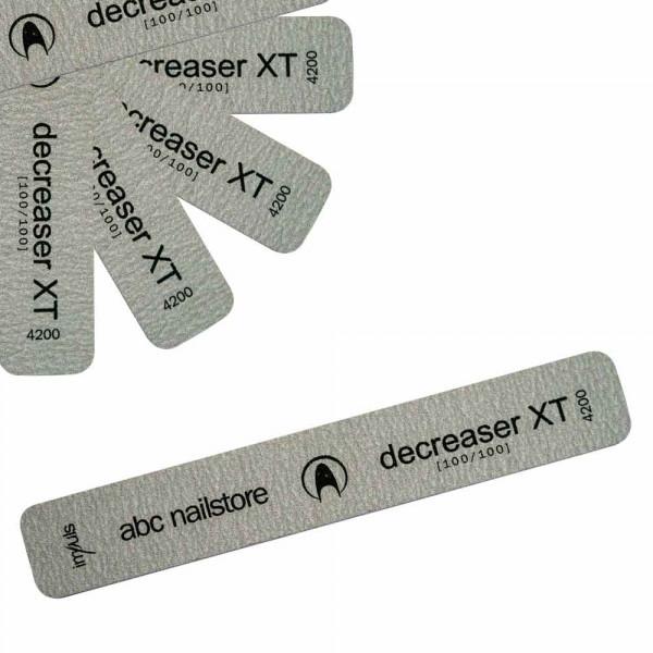 abc nailstore decreaser XT, Feile 100/100 20 Stück
