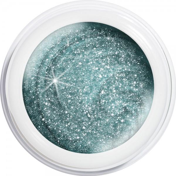 artistgel never without glitter, cosmopolitan blue #1062, 5 g