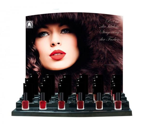 Display Lacquer burlesque, befüllt, 24 x 11ml, über 33% Preisvorteil gegenüber Einzelkauf der
