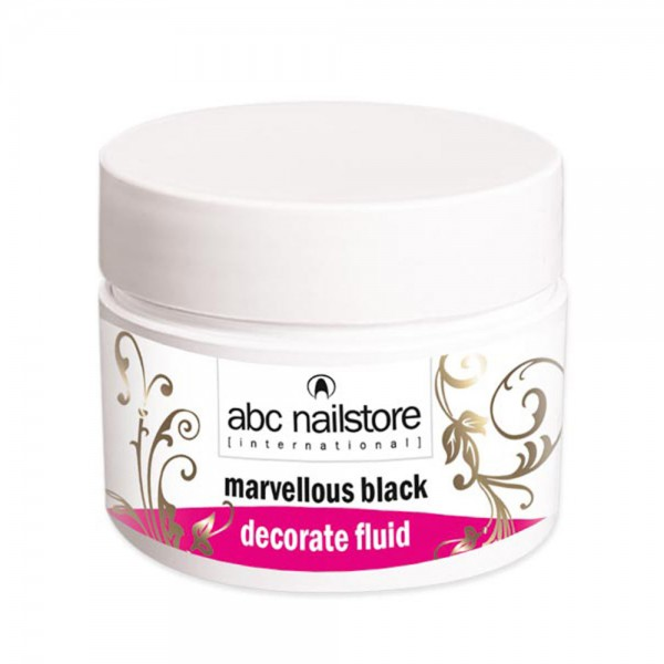 Marvellous Black Decorate Fluid, 5g