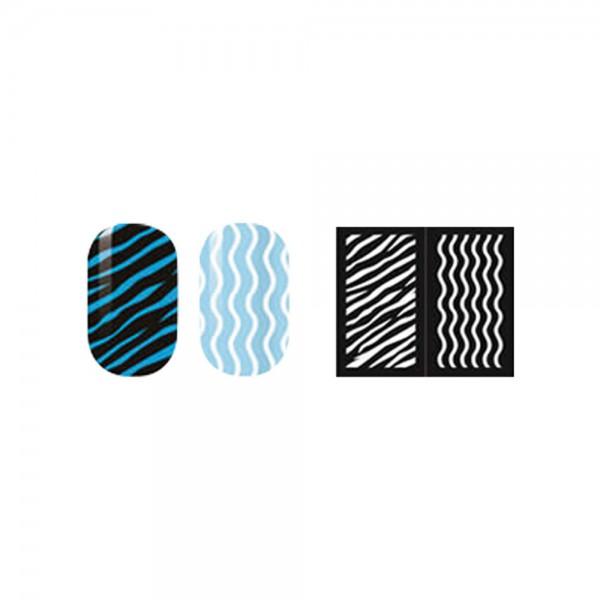 abc nailstore artist adds design stencils #104