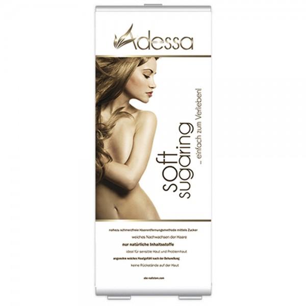 Roll-up Display Adessa soft sugaring