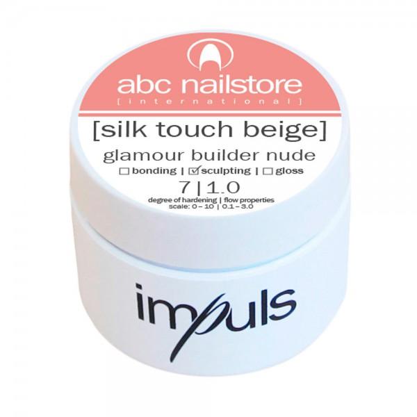impuls silk touch beige, glamour builder nude 5 g