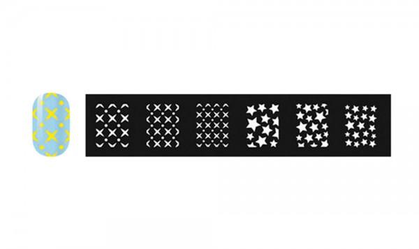 abc nailstore artist adds design stencils #112