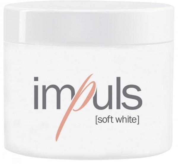 Impuls Soft White, French builder Gel, 100g