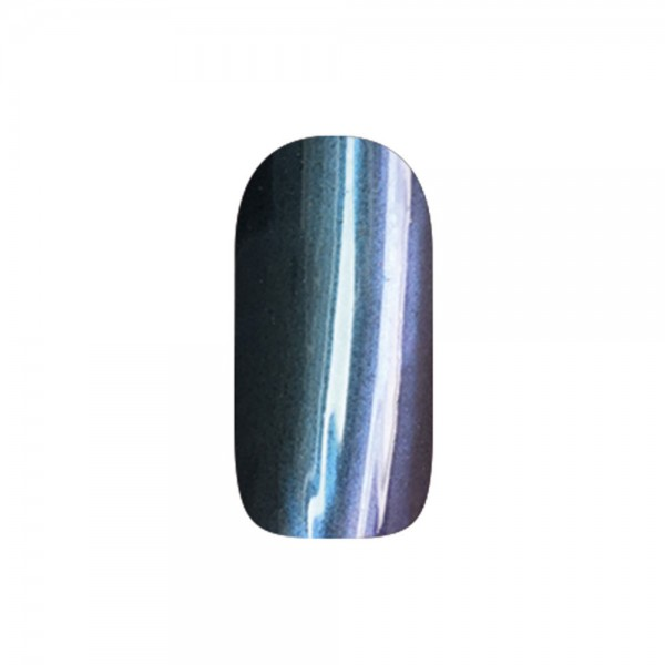 abc nailstore chrome powder flip flop: blue-red #204, 2 g