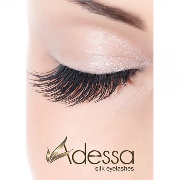Adessa silk eyelashes Poster Motiv #2, geschlossenes Auge, DIN A1